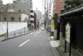 田中屋から江戸方向