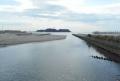 鵠沼橋から見た江の島
