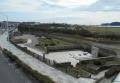 鵠沼橋の歩道橋から見た湘南海岸公園