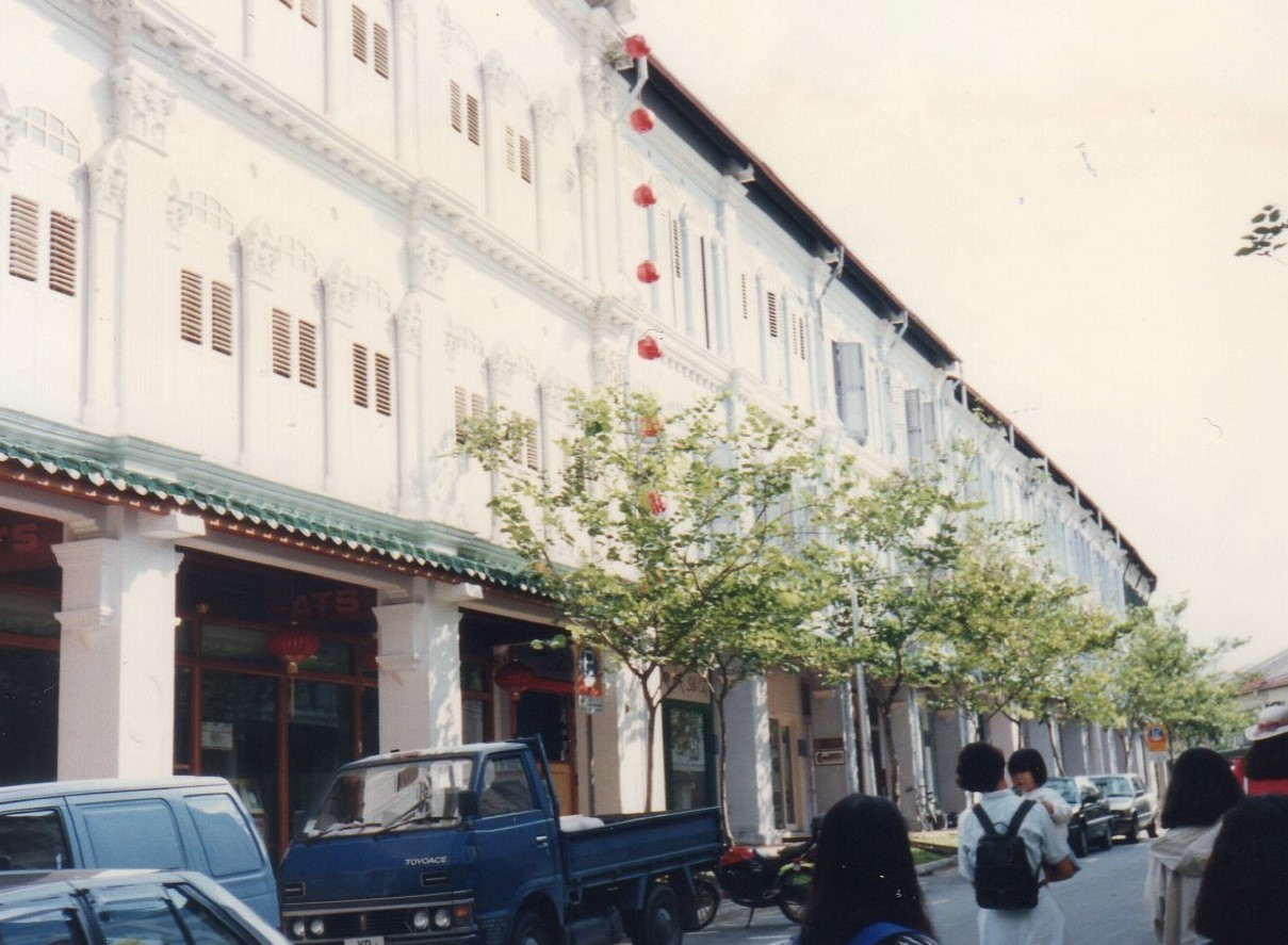 シンガポール 1994年5 (エメラルドヒルのブラナカン様式の建築群 ⑪-2222 (2)