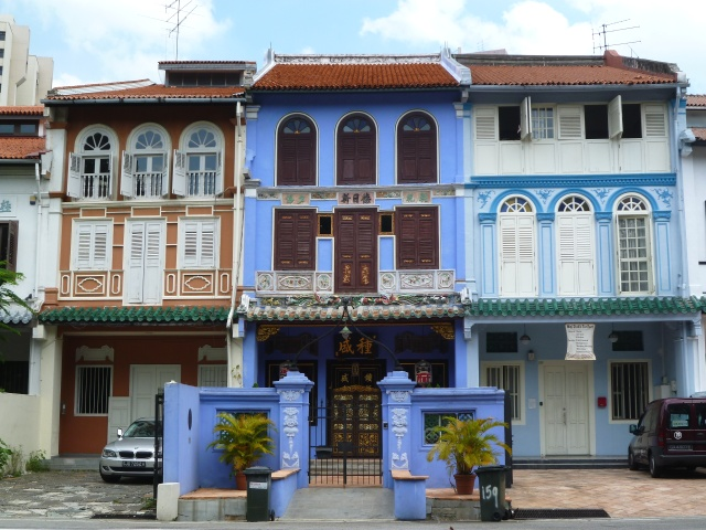 シンガポール・プラナカン建築(ニールロード)