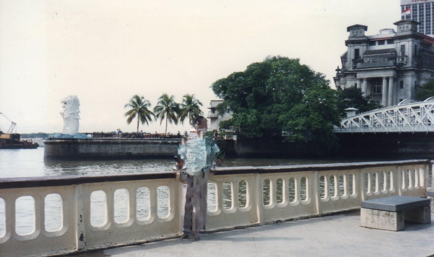 シンガポール 1994年5 月6(3日目)マーライオン 226 (4)