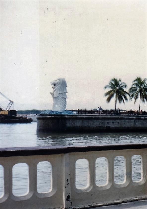 シンガポール 1994年5 月6(3日目)マーライオン 226 (3)