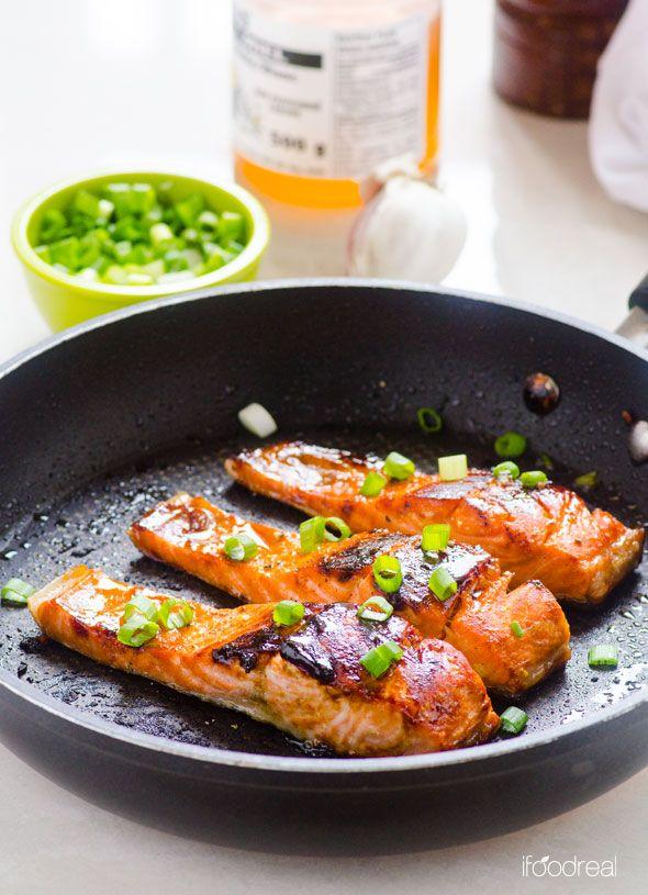 鉄のフライパンで作る 魚のソテー