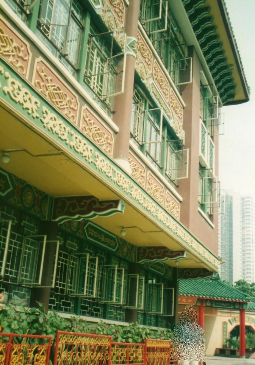 香港・屯門・青松観寺院③-1(1994年8月)