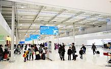 関西空港ビル内部-1