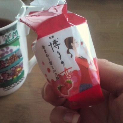 博多の女 あまおう苺ミルク味