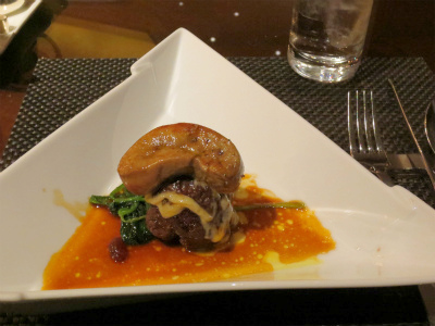 2016-3-14④近江牛のロイヤルチーズハンバーグステーキ