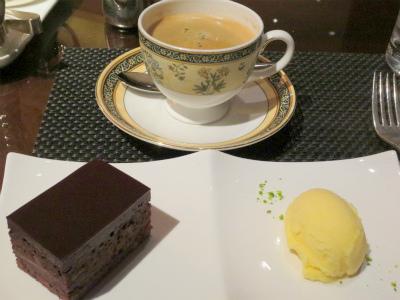 2016-3-14⑤ザ・リッツ・カールトンチョコレートケーキ