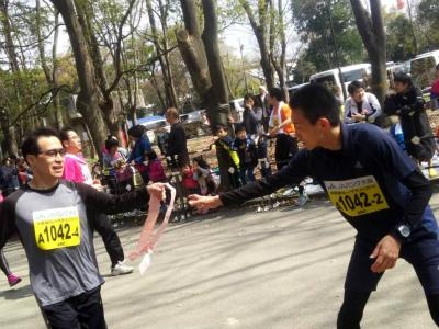大阪城リレーマラソン2016③