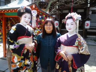 京都祇園にて