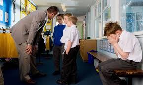 bullying and teacher