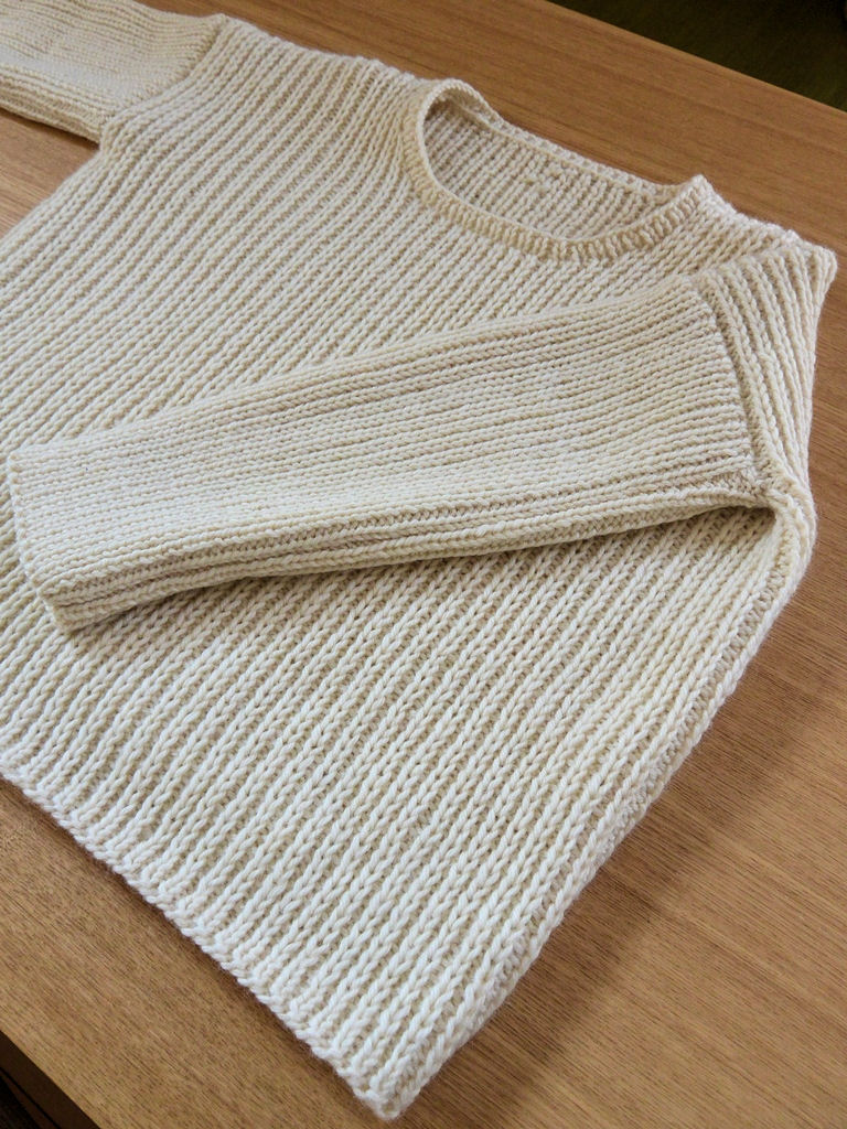 白セーター2