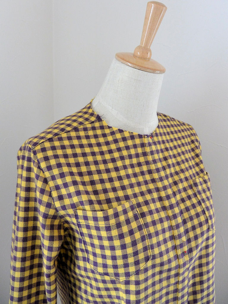 チェックシャツ1