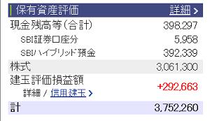 評価損益20160305
