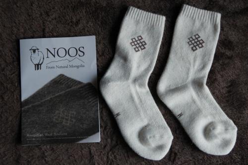 noosウールソックス1