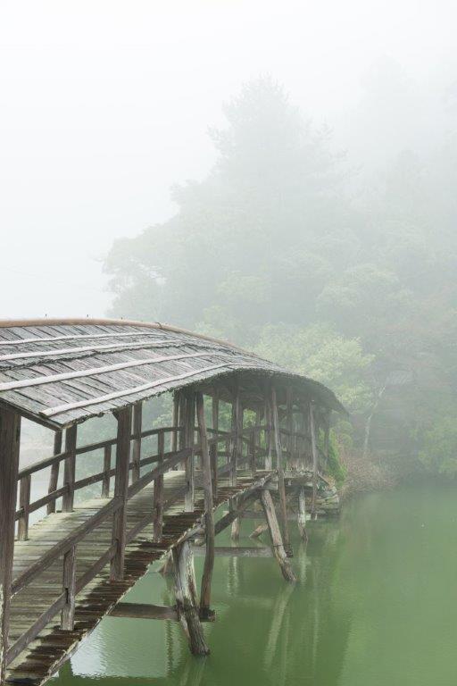 3月霧の石畳-2-1