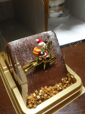 2015 12 25 クリスマスケーキ2