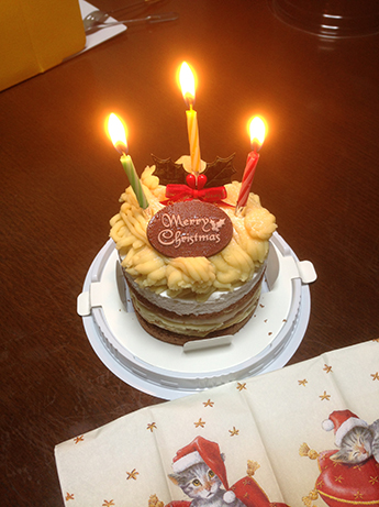 2015 12 25 クリスマスケーキ4