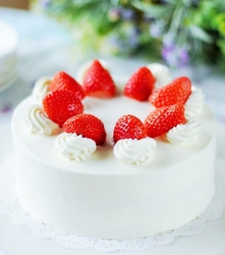 「いちごのショートケーキ」