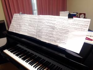 編集した楽譜