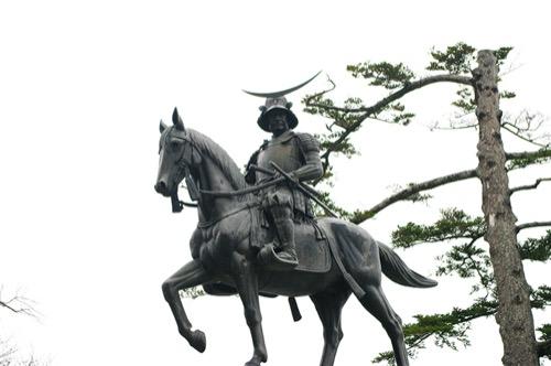 an01:仙台のシンボル 伊達政宗像