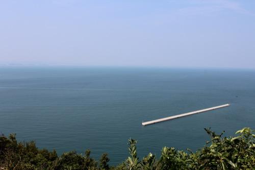 0065:豊島美術館 島一つない広大な瀬戸内海