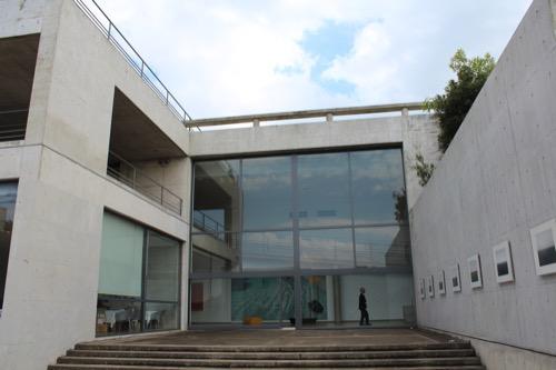 0067:ベネッセハウス 「ミュージアム」テラスから①