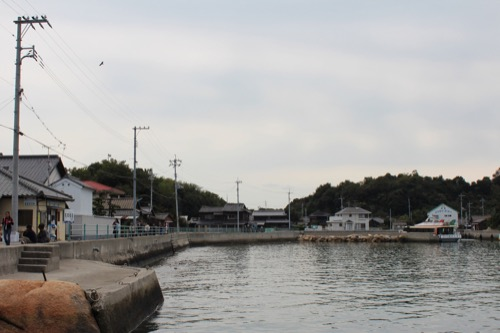 0074:犬島家プロジェクト 犬島港からの眺め