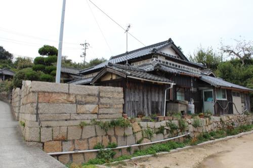 0074:犬島家プロジェクト 集落内の民家②