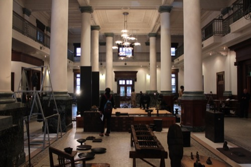 0076:千葉市美術館 「さや堂ホール」内観①