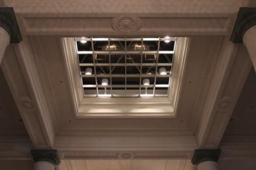 0076:千葉市美術館 「さや堂ホール」天井