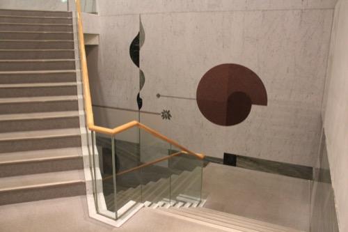 0076:千葉市美術館 7・8階を繋ぐ階段①