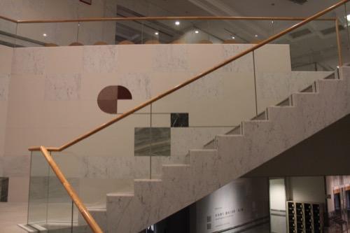 0076:千葉市美術館 7・8階を繋ぐ階段②