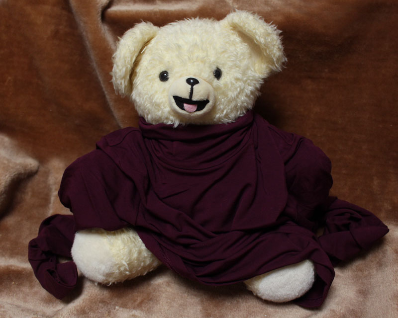 ユニクロ WOMEN 極暖 タートルネックT (長袖)を着る