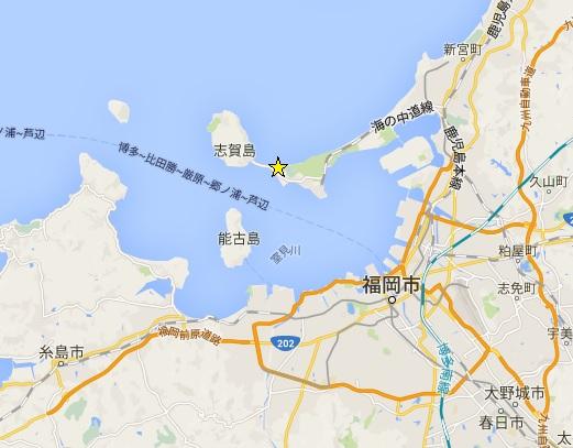 西戸崎マップ