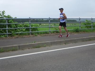 リュウさん、北オホーツクマラソン