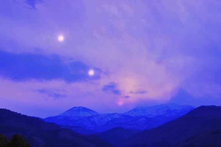 日没の軌跡