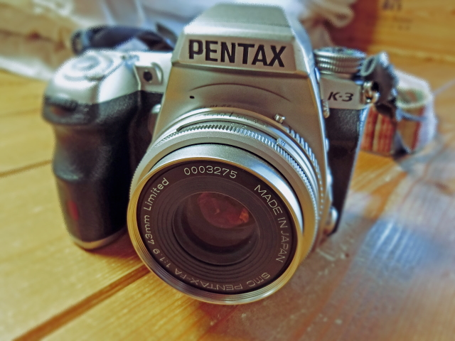 PENTAX K-3 + FA43mm Ltd.