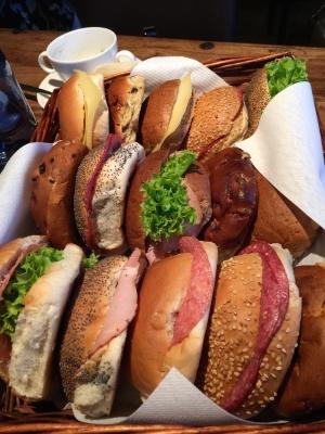 葬式サンドイッチ