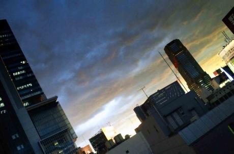 渋谷夕景201512dR