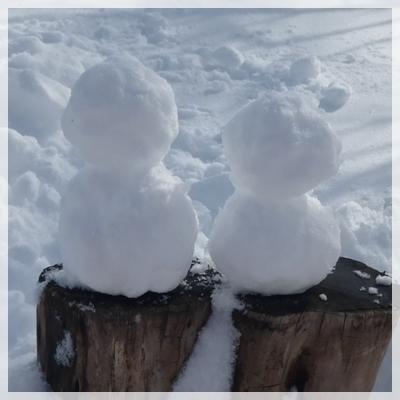 雪だるま 2016年2月21日