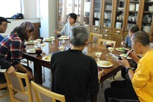 2015年12月12日食事風景