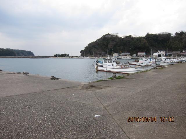 萩港から見た恵美須ヶ鼻造船所跡