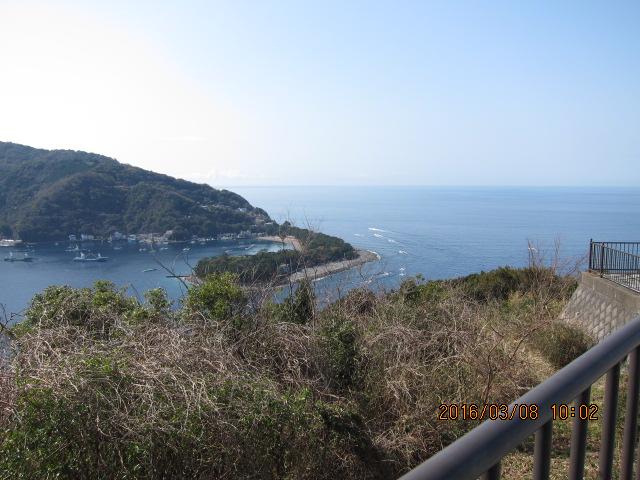 戸田漁港出口