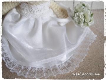 義妹ちゃんのウエディングベア ドレス裾