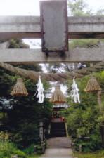金澤神社鳥居