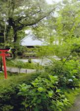 金澤神社から金城靈澤