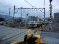 160221加茂駅南側の踏切