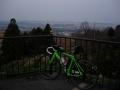 160227グリーンロード河南町内ピークからの眺望